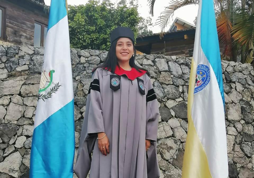 Nancy At Graduation